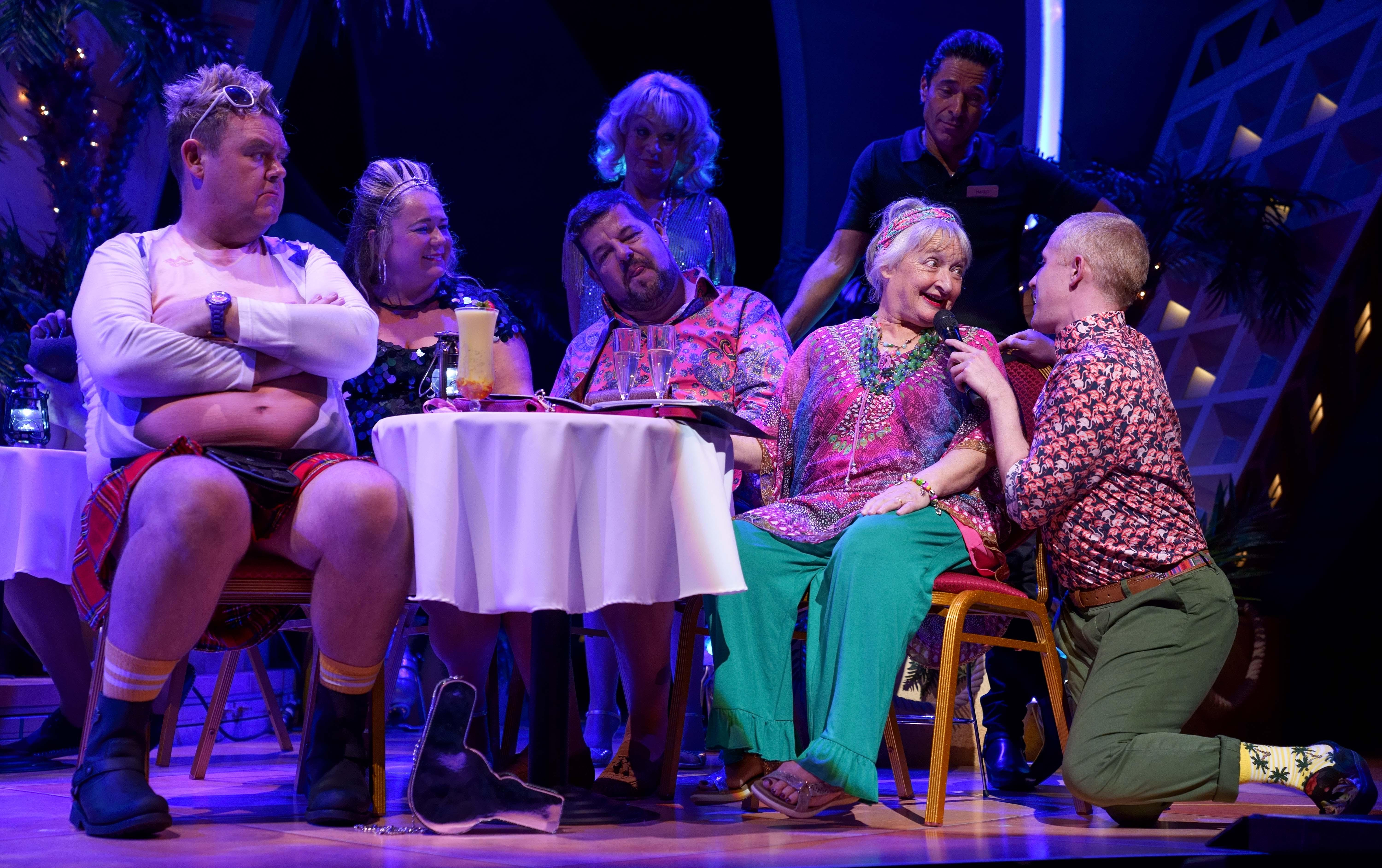 image of Tony Maudsley 'Kenneth', Shelley Longworth 'Sam', Damian Williams 'Derek', Janine Duvitski 'Jacqueline', Adam Gillen 'Liam'
