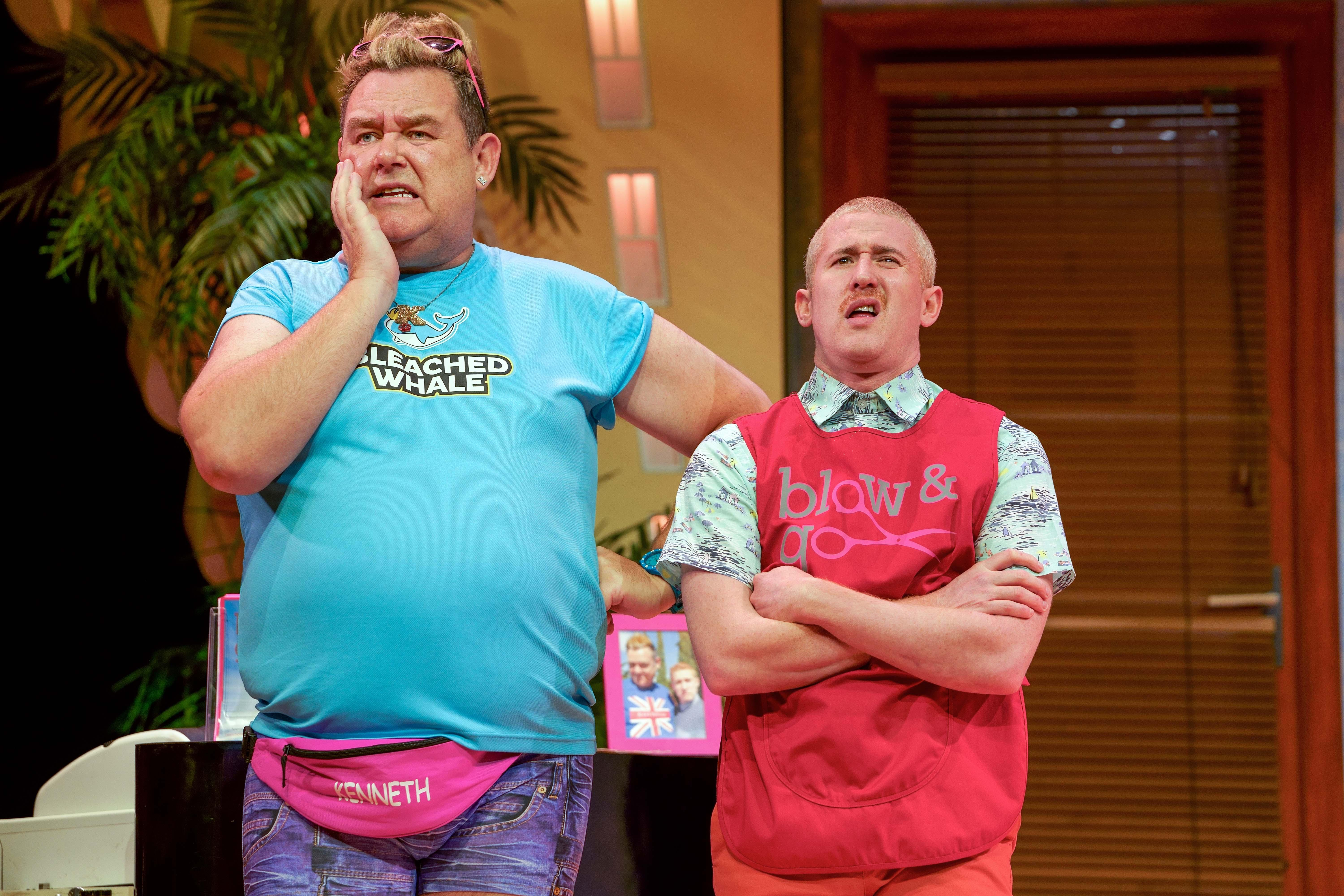 Image of Tony Maudsley 'Kenneth' and Adam Gillen 'Liam'. Photo Paul Coltas.jpg