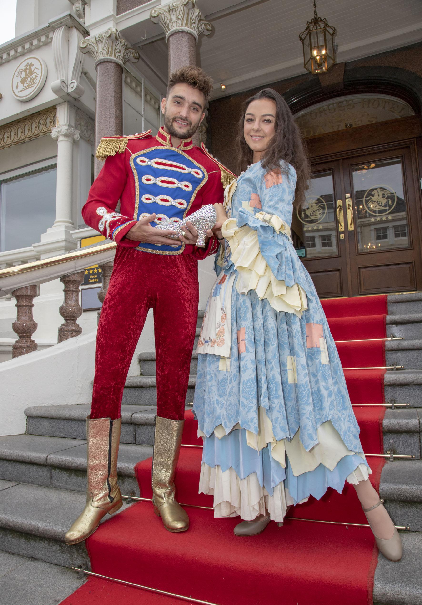 image of Tom Parker (Prince Charming) and Carly Burns (Cinderella)