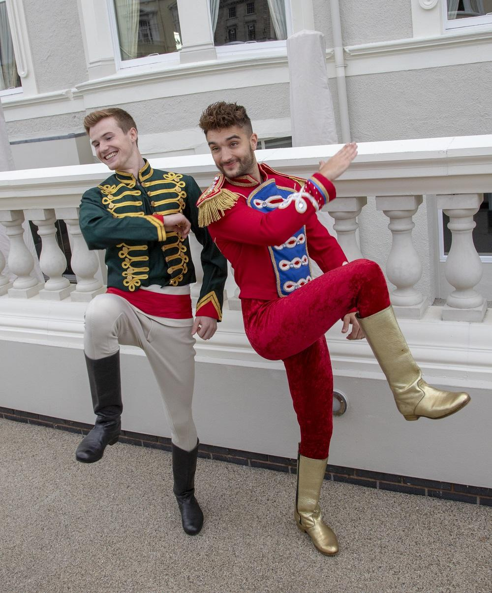 image of Tom Parker (Prince Charming) and Chris Bewsher (Dandini)