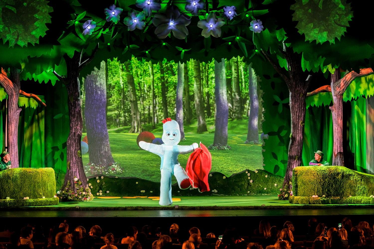 Image of Iggle Piggle dancing