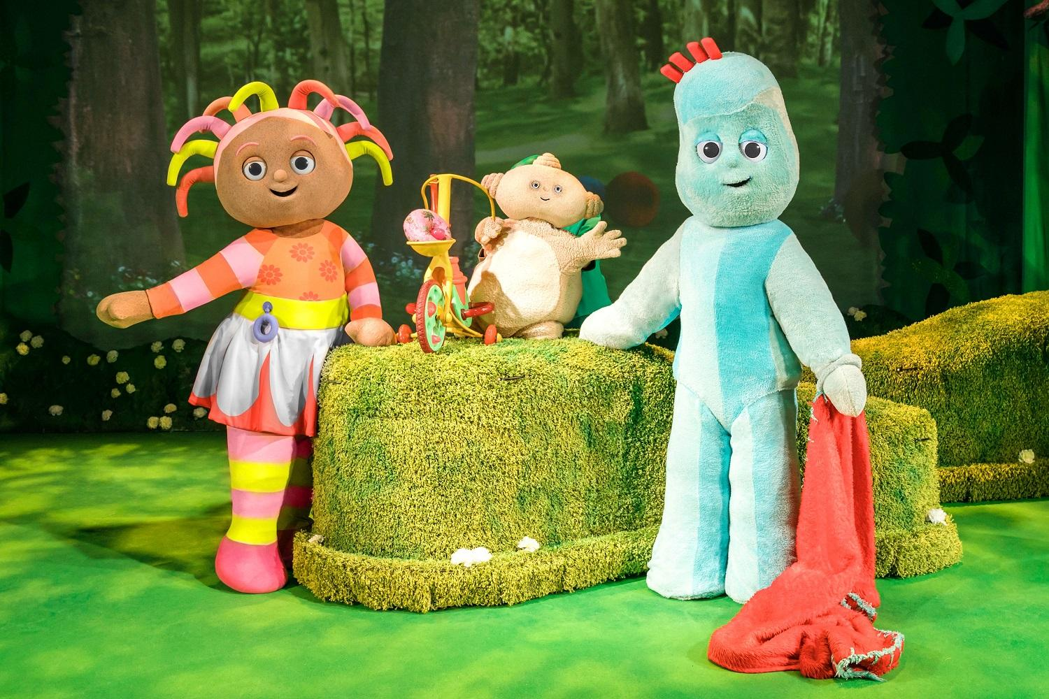 Image of Upsy Daisy, Iggle Piggle and Makka Pakka