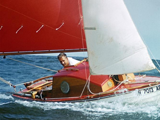 Manry at Sea