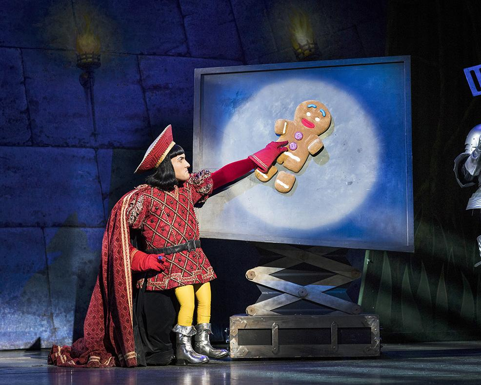 Image of Lord Farquard and the Gingerbread man