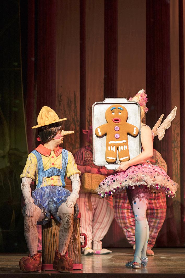 Image of Pinocchio and the Gingerbread man