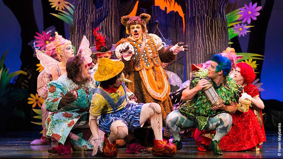 Production image from Shrek