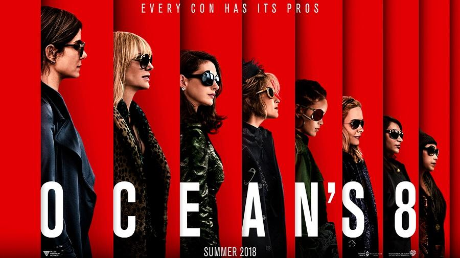 Image of the Ocean's 8 cast