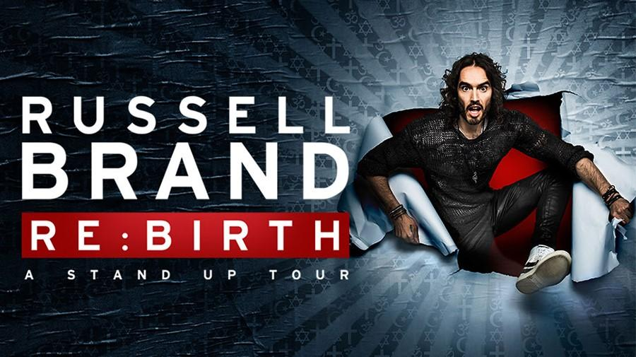Russell Brand tour poster