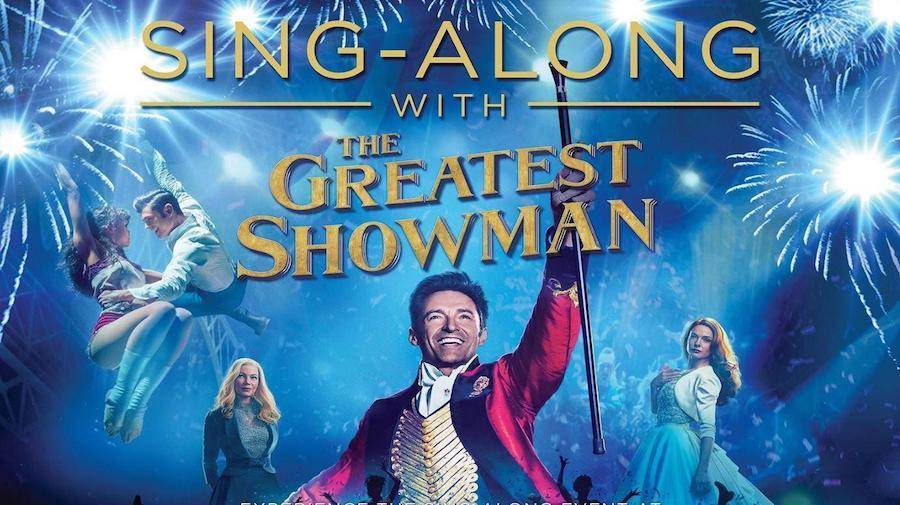 Sing-Along with The Greatest Showman poster
