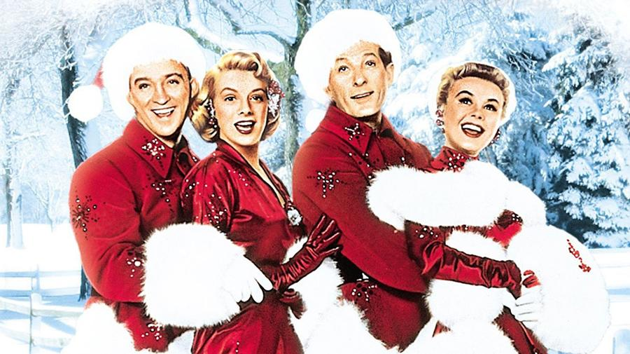 Image of the cast of White Christmas
