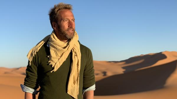 image of Ben Fogle in the desert