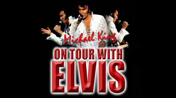 image of Michael King as Elvis