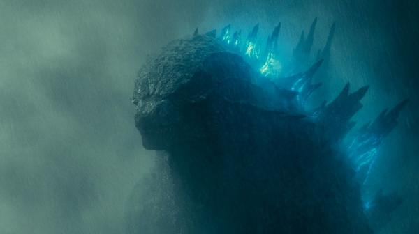 image of Godzilla coming out of the mist