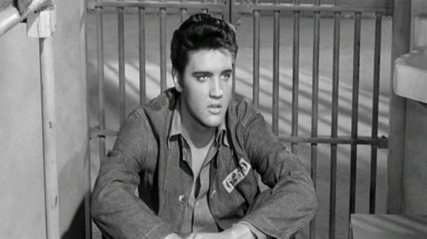 a photo of Elvis Presley in Jailhouse Rock