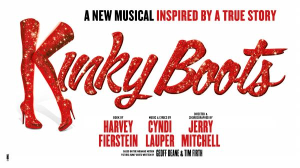 Image of the Kinky Boots logo