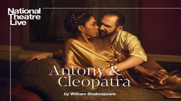 a poster of Ralph Fiennes and Sophie Okonedo