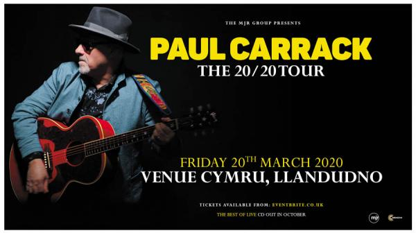 Paul Carrack Artwork