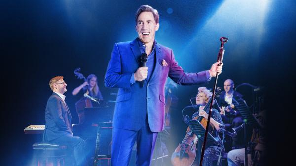 image of Rob Brydon and his band