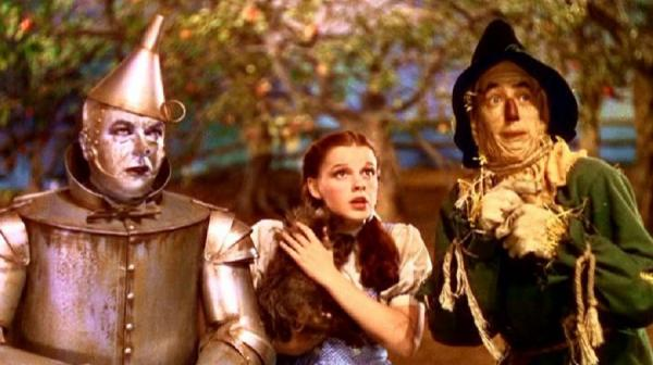 Image of Tin Man, Dorothy and Scarecrow
