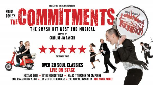 commitments logo and five star review