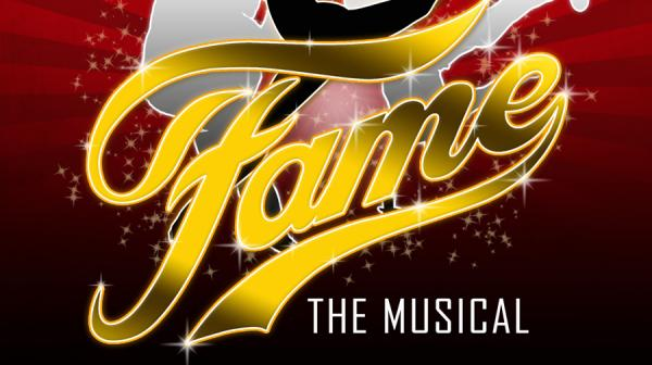Image of Fame logo and dancer