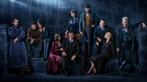 image of  the fantastic beasts cast