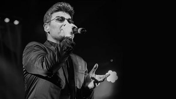 Image of Wayne Dilks as George Michael