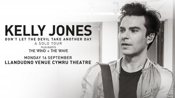 black and white image of Kelly Jones