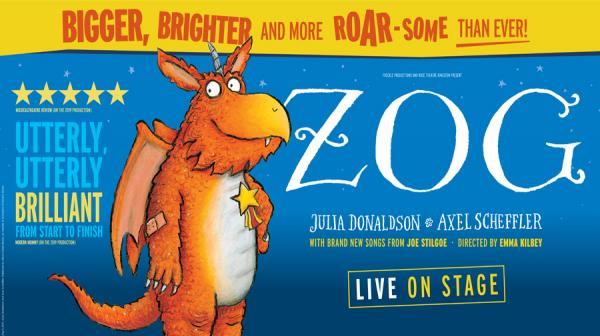 image of Zog the dragon