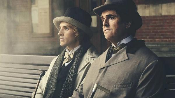 Image of Rupert Everett and Colin Morgan